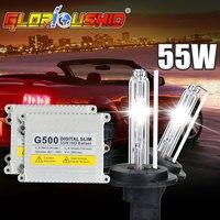Free Shipping High Quality 55W 12V AC HID Kits Xenon Bulb 3000K 4300K 6000K 8000K H8