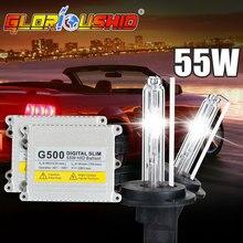 Xénon H11 Haute Qualité H1 H3 H4 H7 H11 9005 9006 881 55 W 12 V AC HID Kits Xénon Ampoule 4300 K 6000 K 8000 k Slim Xenon Ballast