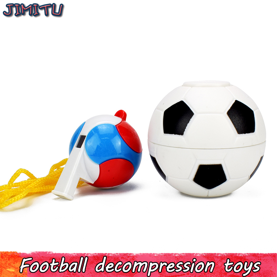 Fußball Fidget Spinner Spielzeug Für Kid Kreative Cube Fußball Pfeife Stress Relief Geschenk Für Erwachsene Magie Lustige Anti Stress Büro Spielzeug