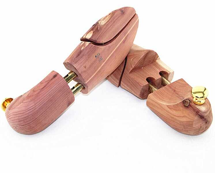 1 زوج جديد وصول عالية كواليتي حذاء من خشب الأرز شجرة المشكل حارس قابل للتعديل خشبية نقالة الحذاء الخشب الحرفية W0010