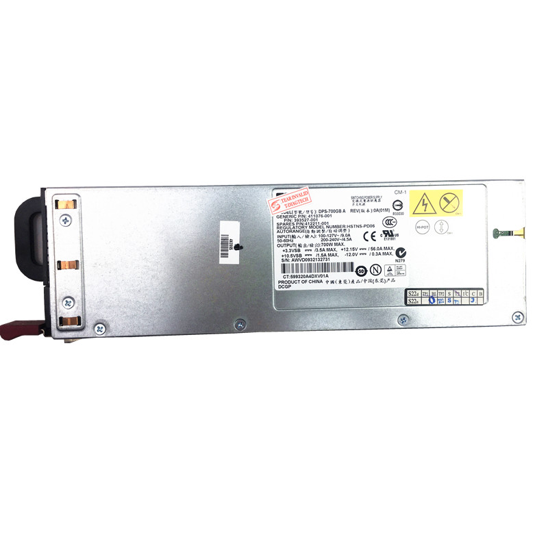 700W Power Supply DPS-700GB A server power supply 393527-001 412211-001 for DL365 DL360 G5 1U 700W bitcoin miner PSU Server