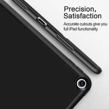 ESR Case for iPad Air 3 Mini 5 7 2019 Folio Rubber Oil Cover Ultra Slim Smart Pencil Slot Soft TPU Case for iPad 7 7th 10.2 2019
