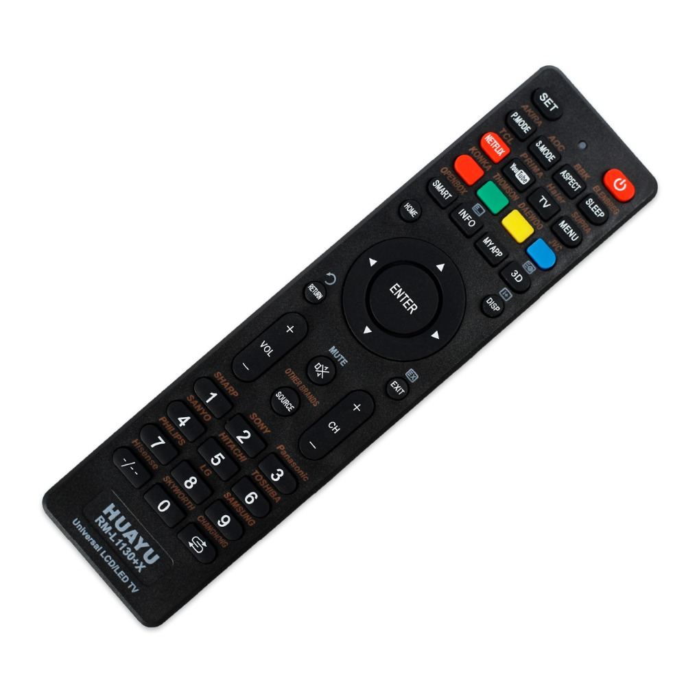 US $1 88 |LCD LED Smart Controller Universal TV Remote Control for sony  philips lg samsung vizio supra bbk izumi panasonic hitachi akai-in Remote