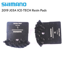 Shimano J03A Resin ICE Cooling Fin Disc Brake Pads for SLX M6000 M666, M675, Deore XT M785,M8000 XTR M985 M9000 Update from J02A цена 2017