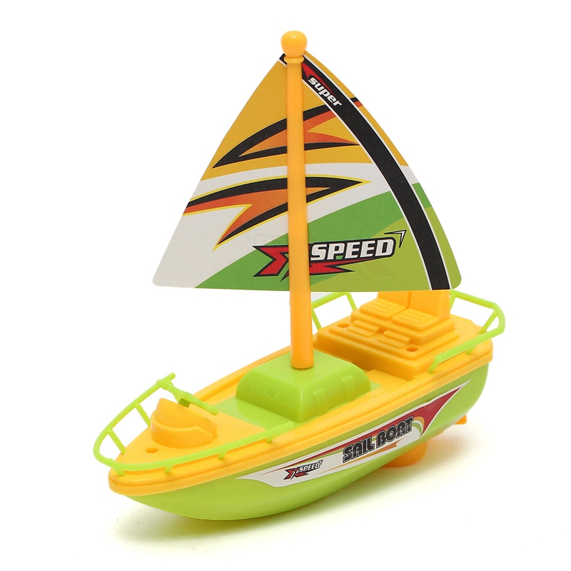 Electric Speedboat Speed Racing Boat Motor Kids Bath Bathtub Gifts ...