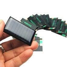 Мини 0,15 Вт 5 В солнечная панель DIY батарея зарядное устройство Модуль Портативный Panneau Solaire энергетическая плата 53*30 мм