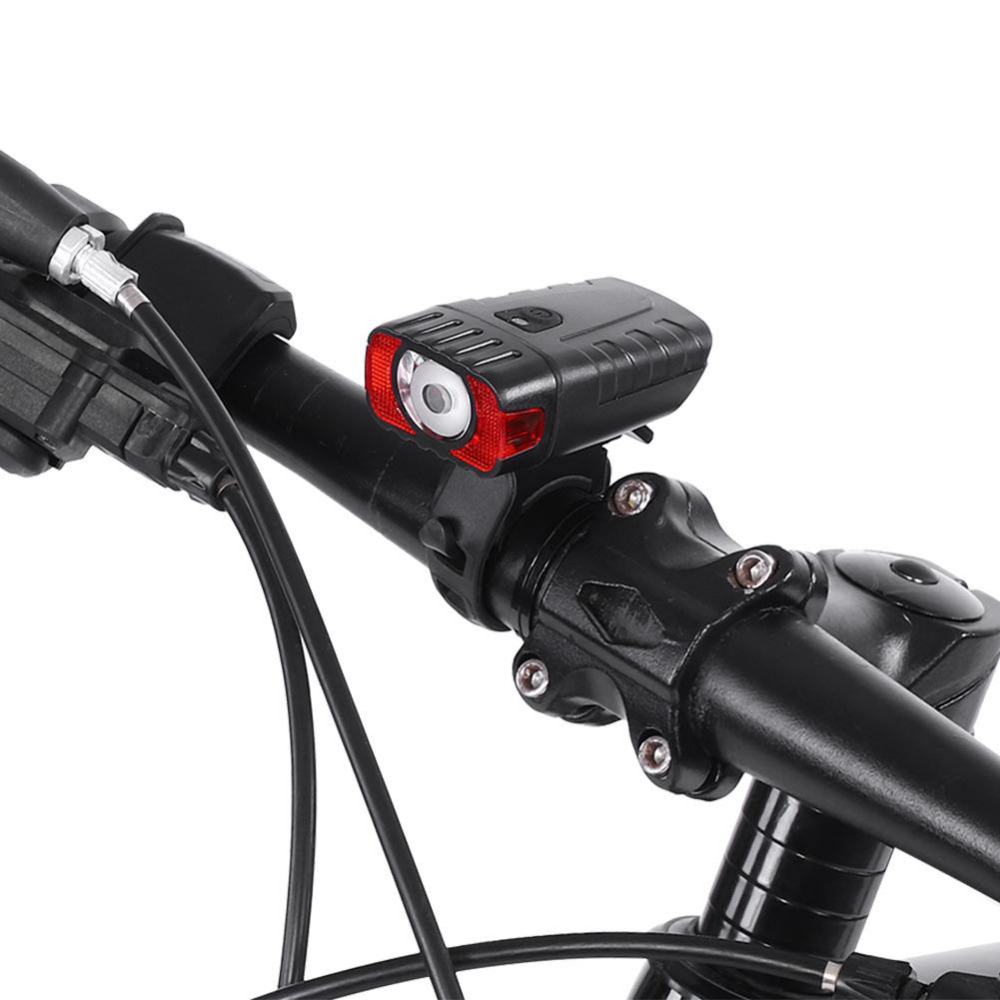 Bicycle Light Rechargeable Bike Headlight Flashlight Waterproof Front LED Lamp