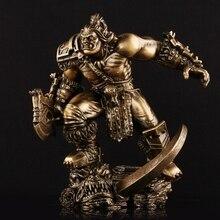 Movie Version Of World Of Warcraft Hellscream Ogrim GK Hand Model Statue Children Presents Home Decoration