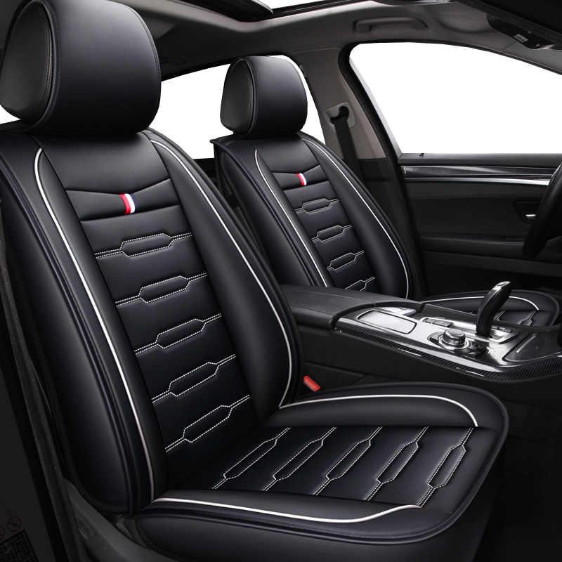 PU Leather Cartoon auto seat covers for infiniti fx fx35 fx37 g25 g35 q50 qx50 q70L of 2010 2009 2008 2007