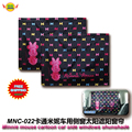 Car Accessories Minnie mouse cartoon car side window sun shades (1 Pair) free shipping MNC-002