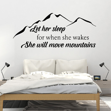 Cartoon Mountain Wall Art Decal Wall Stickers Pvc Material For Kids Room Living Room Home Decor Wall Art Decal naklejki drop shipping cabaret wall art decal wall stickers pvc material for kids room living room home decor removable decor wall decals