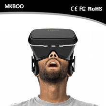 VR Virtual Reality helmet headset 3D glasses For 4.0-6.0 inch smartphone + Smart Bluetooth Wireless Remote Control VR Glasses