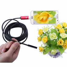 10M Car HD USB Camera Vehicle Endoscope 6 Led Android Inspection 7.0MM Lens IP67 for Maintenance Repairing Laboratory
