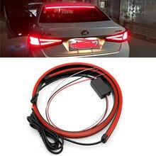 Струящийся красный светодиодный автомобильный дополнительный тормозной светильник DRL Светодиодный дневной ходовой светильник для hyundai Solaris, creta ix35 Tucson i30 Mazda CX-5 6