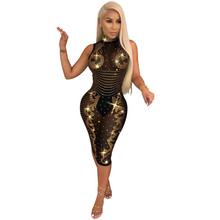 MUXU sexy sequin dress patchwork vestidos women clothing fashion sukienka glitter elbise bodycon party streetwear