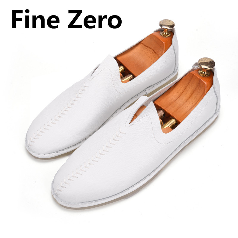 High Quality handmade woven Men Shoes Soft breathable Moccasins Loafers non slip new Brand Men Flats Comfy Driving men's shoes 2017 new brand breathable men s casual car driving shoes men loafers high quality genuine leather shoes soft moccasins flats