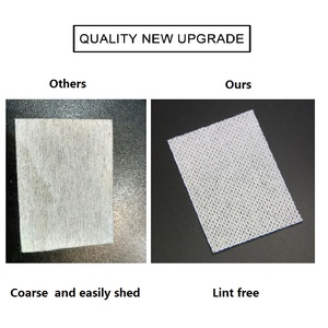 Image 5 - LKE Lint Free Wipes Napkins Manicure Remove Nails Varnish Cotton Pads Nail Art Tools Lint free Nail Gel Polish Removal Wraps