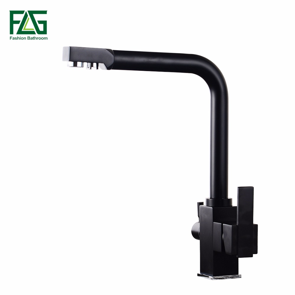 Kitchen Faucets Brass Sink Water Faucet 360 Degree Rotation With Water Purification Features Mixer Tap Crane For Kitchen
