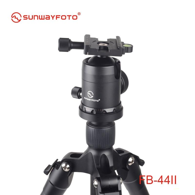 SUNWAYFOTO FB-44II kepala tripod untuk DSLR Camera Tripode Ballhead - Kamera dan foto - Foto 5