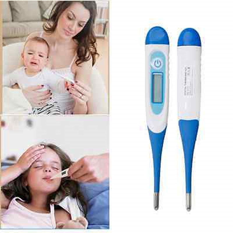 LCD Adult Children Baby Electronic Thermometer Mouth Underarm Body Temperature O31