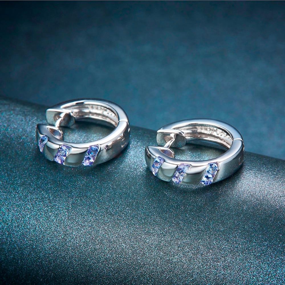 Hutang Stone Hoop Σκουλαρίκια Φυσικό - Κοσμήματα - Φωτογραφία 2