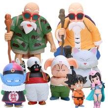 Мастер Роши Сон Гоку куририн плов ПВХ Фигурки Dragon Ball Z Коллекционная модель куклы грагонбол игрушки GT Figuren