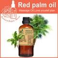 100% óleo de base vegetal puro cuidado óleos Essenciais da pele óleo de palma Vermelho 100 ml Massagem Hidratante óleo do Portador de Vitaminas Naturais