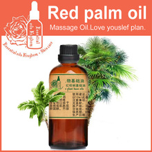 100% pure plant base oil Essential oils skin care Red palm oil 100ml Massage Moisturizing Vitamins Natural Carrier oil