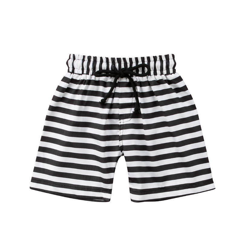 2018 Boys Beach Shorts striped floral Kids swimming trunks Children sport Biquinis swimsuits Boys Swimwear bathing 1-6T hot sale