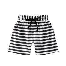 bf9634b500d 2018 Boys Beach Shorts striped floral Kids swimming trunks Children sport swimsuits  Boys Swimwear bathing suits