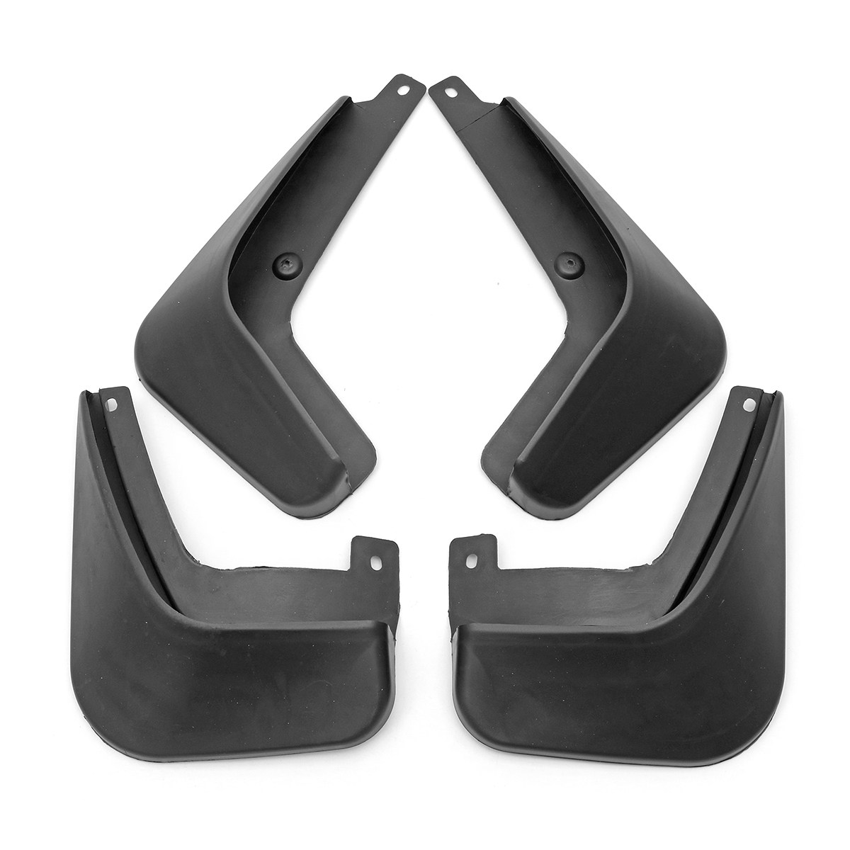 4pcs Car front and rear Mudguard -Fender Splash Flaps Mud Flaps For Geely Emgrand EC7