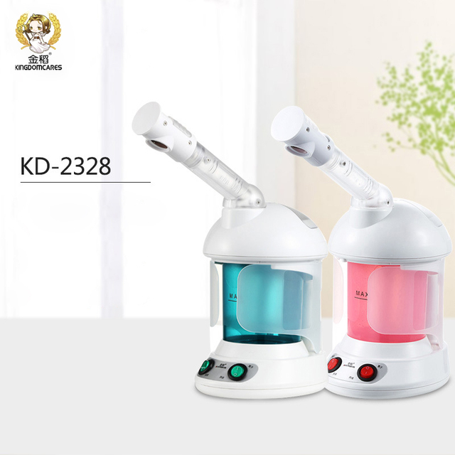 Deep Cleaning Ozone Facial Steamer Nano Ionic face Cleaner Face Sauna Spa Steaming Device Facial Thermal Steam Skin Care Tool