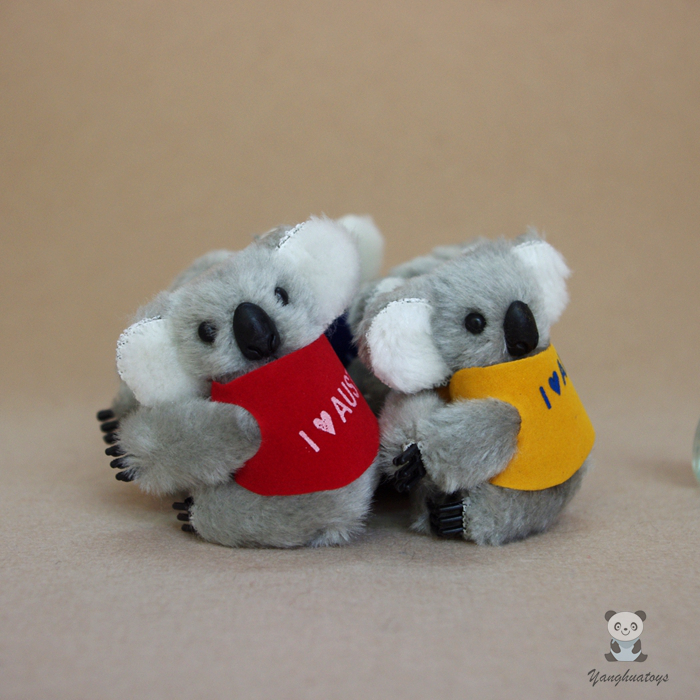 Plush Pendant Toys Koala Key chains Bag Stuffed Toy Small Gifts