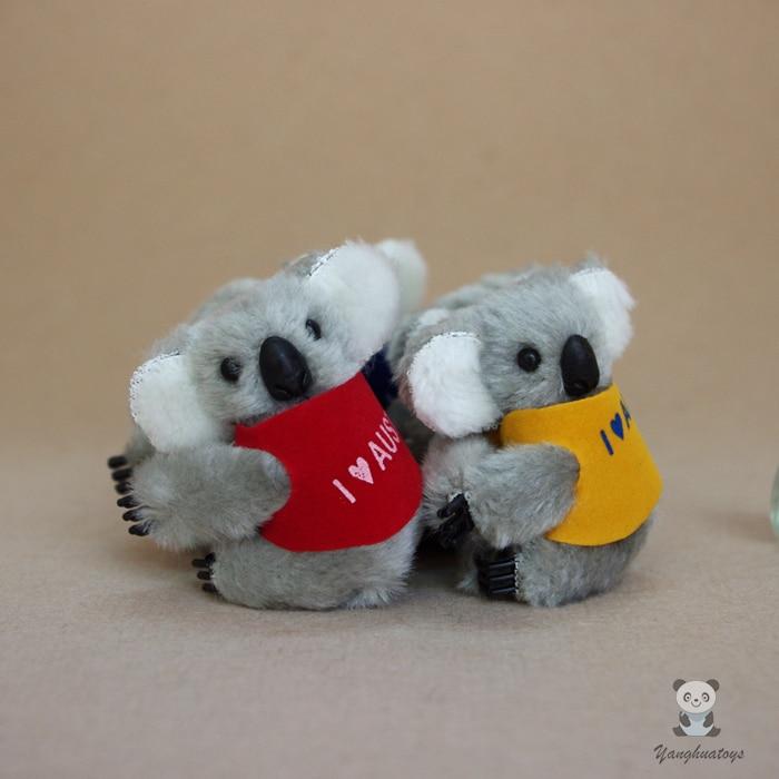 Plush Pendant Toys Koala Key chains Bag Stuffed Toy Small Gifts