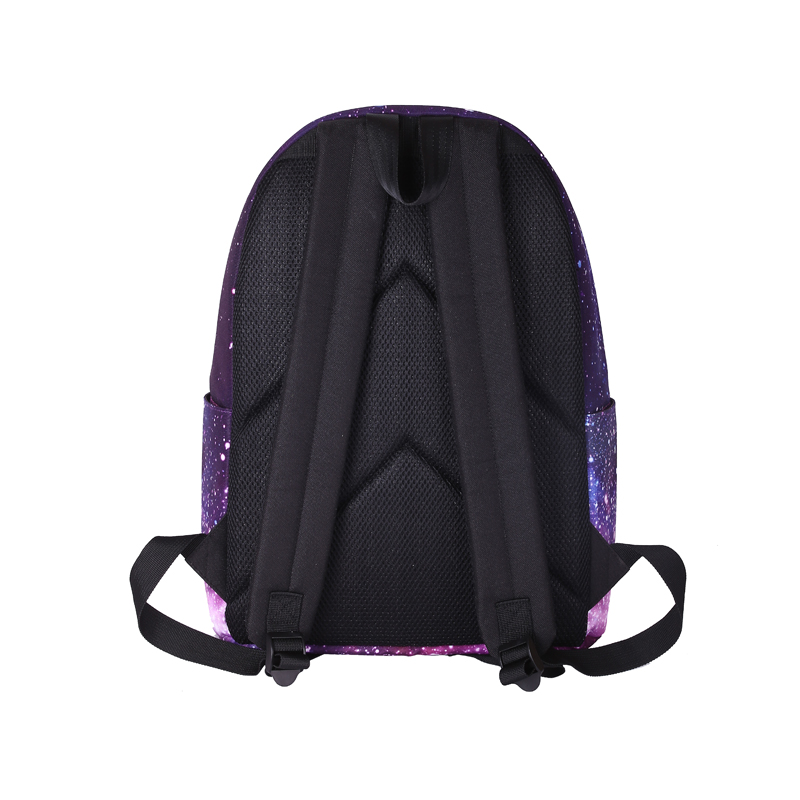 45553b12d309 RUNNINGTIGER 3pcs Sets Girls School Bags Women Printing Backpack School  Bags For Teenage Girls Shoulder Drawstring Bags-in Backpacks from Luggage    Bags on ...