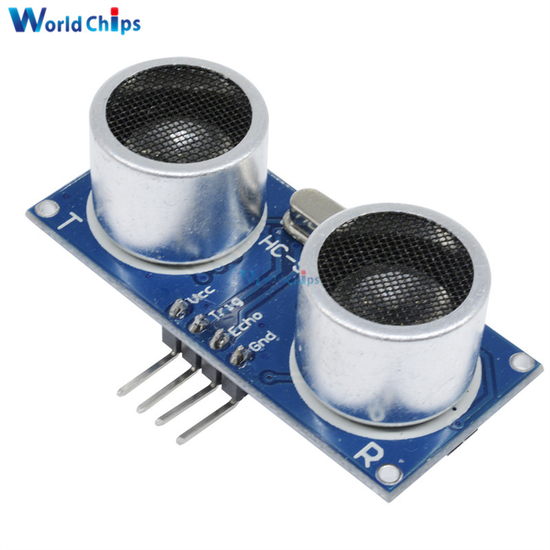10Pcs/Lot DC 5V Ultrasonic HC-SR04 SR04 Distance Measuring Transducer Sensor Module Board for Arduino HCSR04 IO Trigger Sensor image