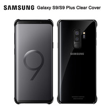 Samsung Original Phone Case Soft Shell For GALAXY S9+ Plus G9650 S9 G9600 Stealth TPU Mobile Cover 5 Colors