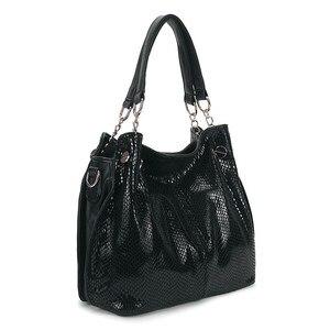 Image 2 - 2019 taschen Für Frauen Große Luxus Handtaschen Damen Hand Taschen Luxus Marke Echtem Leder Handtaschen Lässig Umhängetasche Weibliche F 386