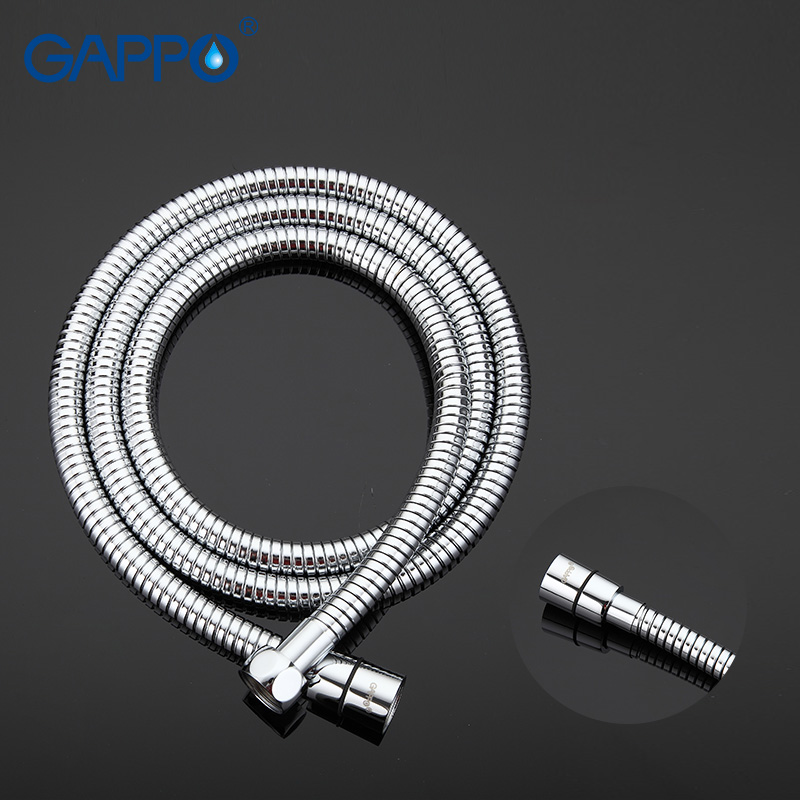 Gappo Flexible Shower hose water pipe 1.5m Stainless Steel plumbing hose Bathroom Accessories G46