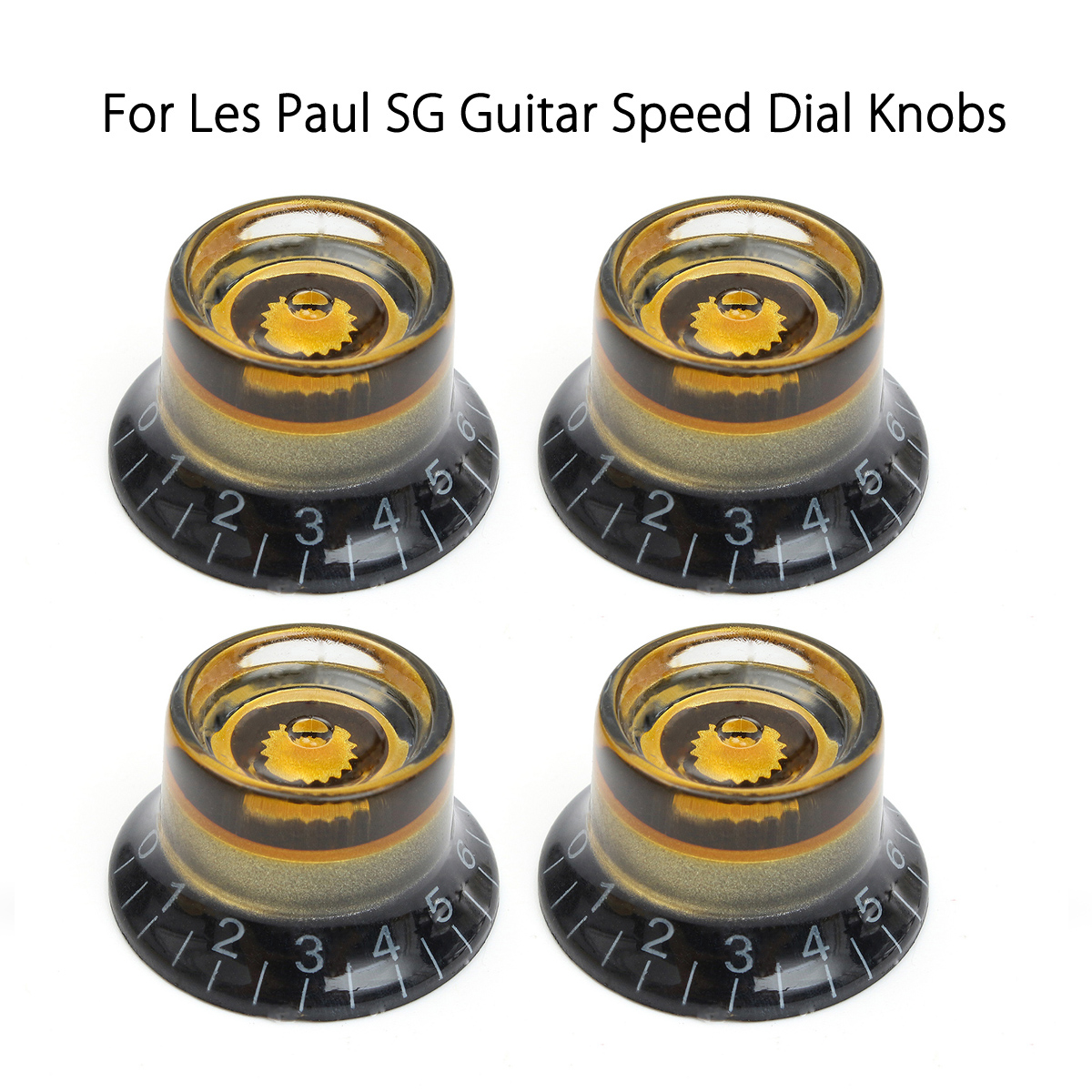 4pcs black gold guitar knobs speed control volume tone for guitar guitarra replacement electric. Black Bedroom Furniture Sets. Home Design Ideas