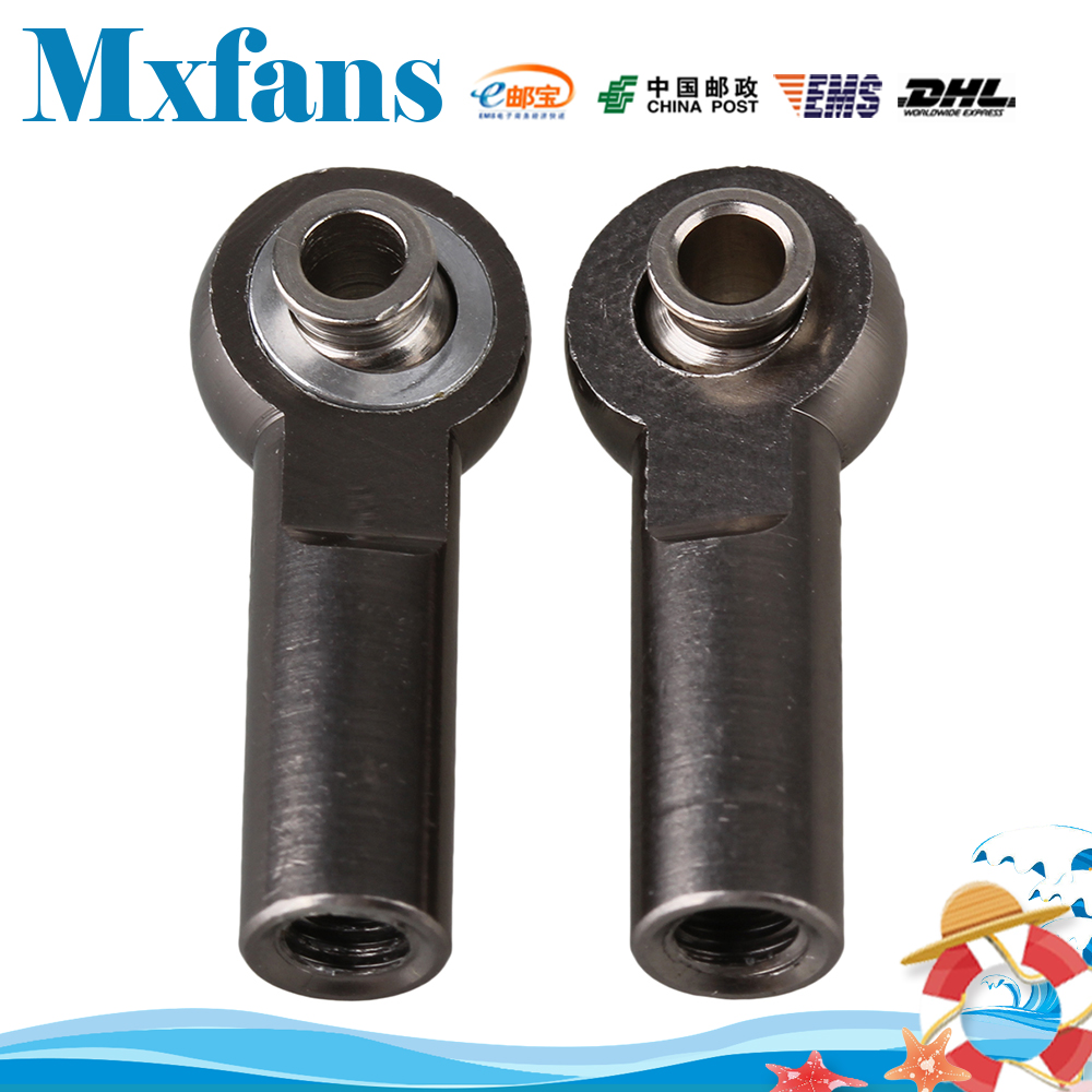 Mxfans2PCS RC 1: 8 in 1:10 Avtomobilska zlitina M4 Končna konica - Radijsko vodene igrače