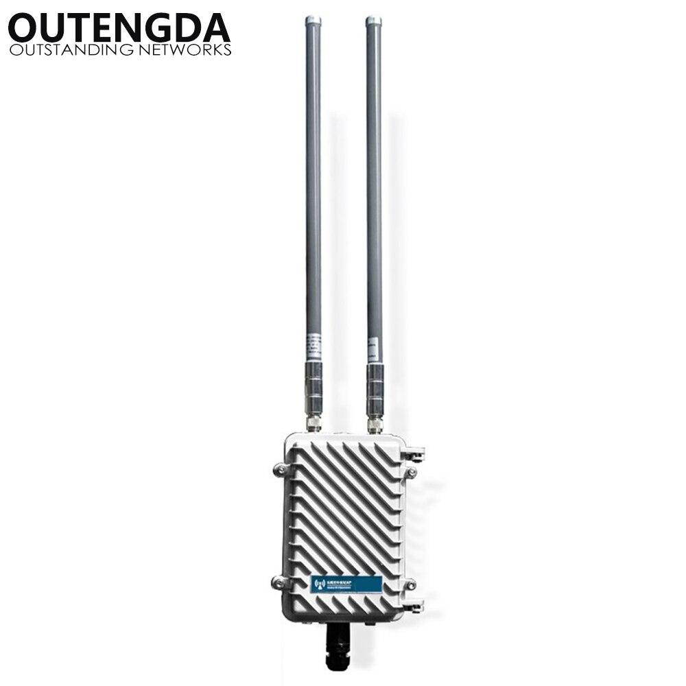 600 Mbps double bande 2.4G & 5.8G extérieur CPE AP routeur WiFi Signal Hotspot amplificateur répéteur longue portée sans fil Point d'accès PoE - 5