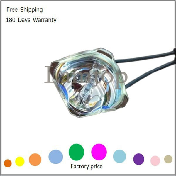 Free shipping Compatible bare  projector bulb  ELPLP34  Fit for EMP-63 free shipping compatible projector bulb projector lamp elplp34 fit for emp 76c