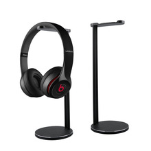 Aluminum Headphones Stand Rack, Modern Fashion Headset Holder Earphone Bracket Hanger for All Sizes Gaming and Audio Headphones