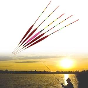 Image 1 - 5 قطعة الصيد تعويم ليلة الإنارة معالجة توهج عصا الخشب الملحقات مع الرصاص