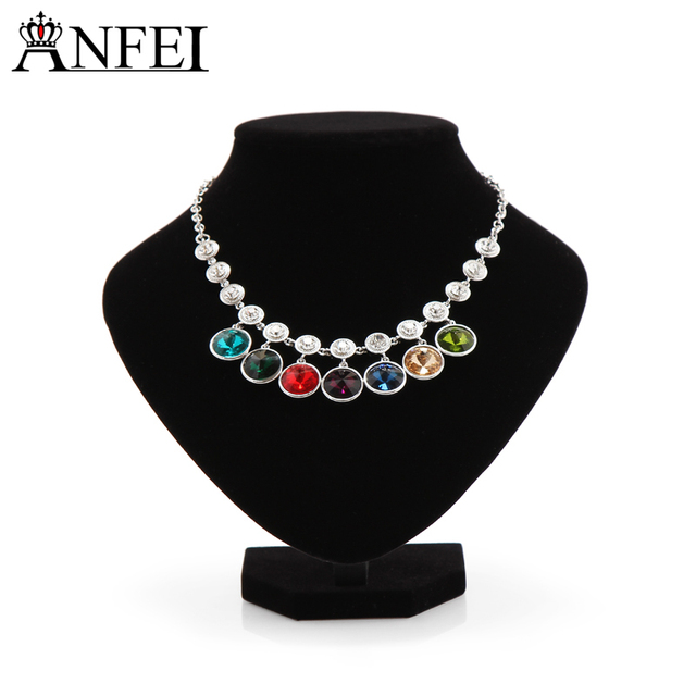 Anfei Small Size Jewelry Display Model 15 CM Velvet Jewelry Show