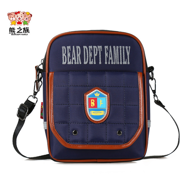 BEAR DEPT FAMILY Brand Kids Messenger Bags Crossbody Bags Children Teen  School Shoulder Bag Boys Girls Small Tote Bag
