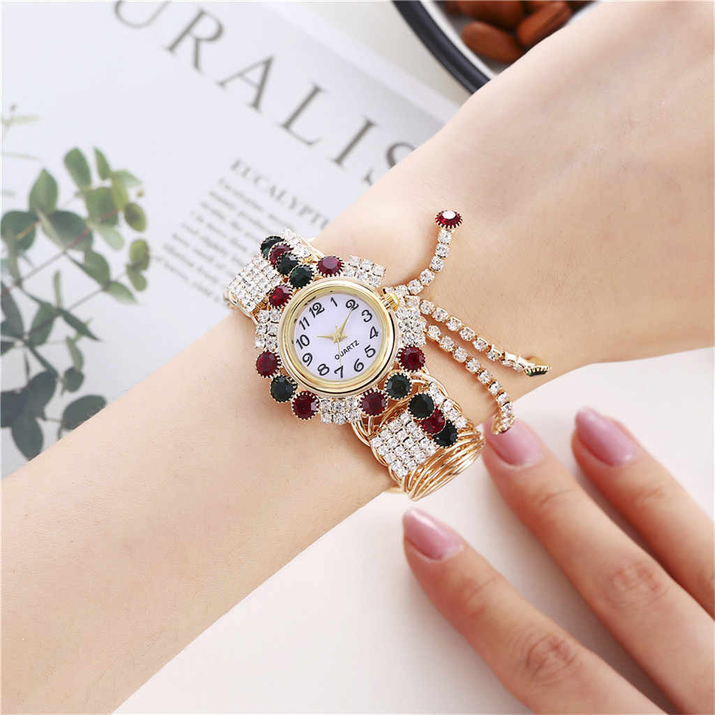Relogio Feminino 2019 แบรนด์หรู Khorasan แฟชั่นนาฬิกาสร้อยข้อมือควอตซ์นาฬิการุ่น Kh080 สตรีนาฬิกา