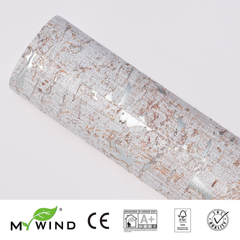 2019 MY WIND Mint Green Wallpapers Luxury 100 Natural Material Safety Innocuity 3D Wallpaper In Roll Decor European aristocracy in Wallpapers from Home Improvement