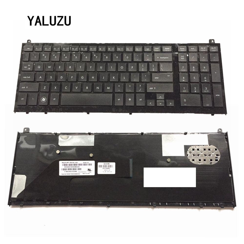YALUZU US New keyboard For HP FOR probook 4520 4520S 4525S 4525 Black English Laptop Keyboard with FrameYALUZU US New keyboard For HP FOR probook 4520 4520S 4525S 4525 Black English Laptop Keyboard with Frame